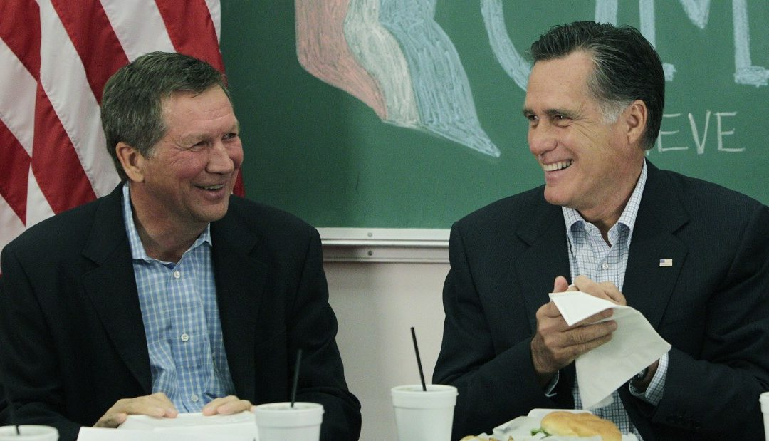 Romney Heads To Ohio To Help Kasich