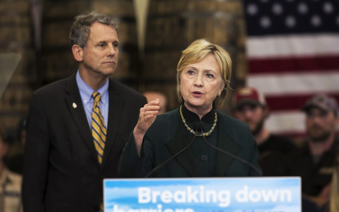 For Clinton, Brown is a slam-dunk running mate