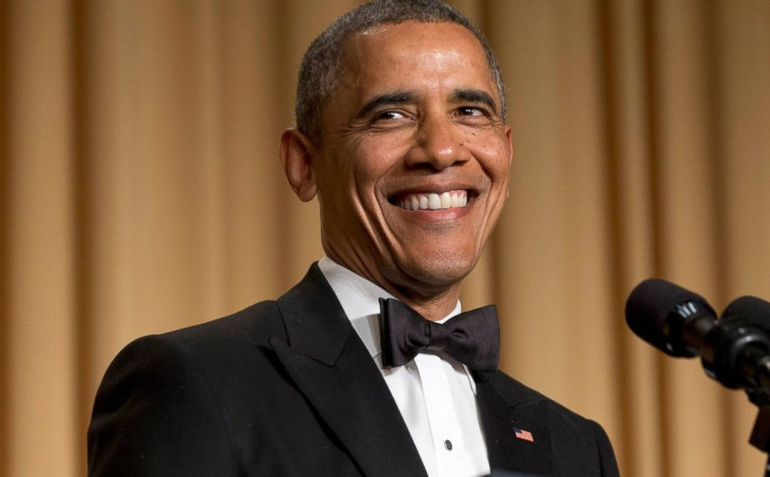 Obama the Comedian In Chief