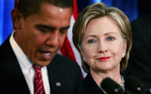 OBAMA SAYS HILLARY IS ON HER OWN WITH FBI