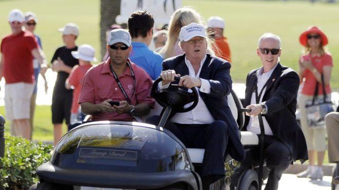 PGA Picks Mexico Over Trump