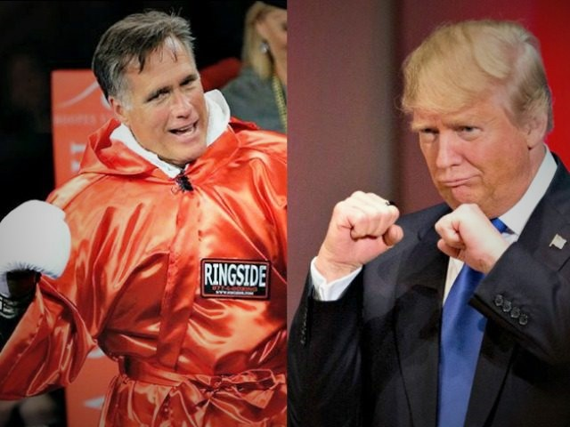 "Trump Calls Romney ""Pathetic Loser"""