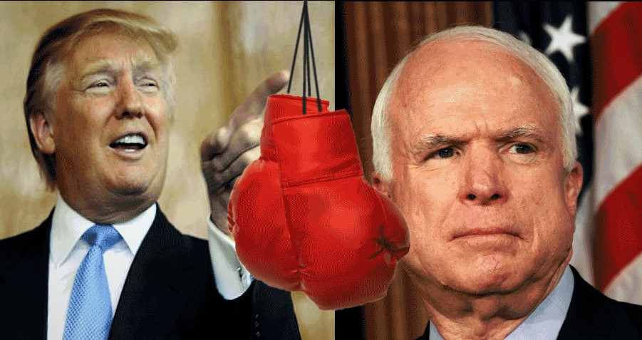 Trump Throwing Punches At GOP Incumbents