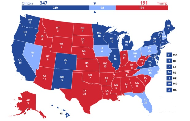 100 Days To Go: It's Clinton's To Lose