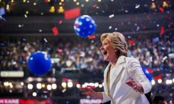 Big Bounce For Clinton In Battlegrounds