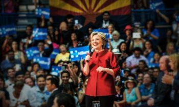 Arizona Dead Even – Clinton Sends In Big Guns