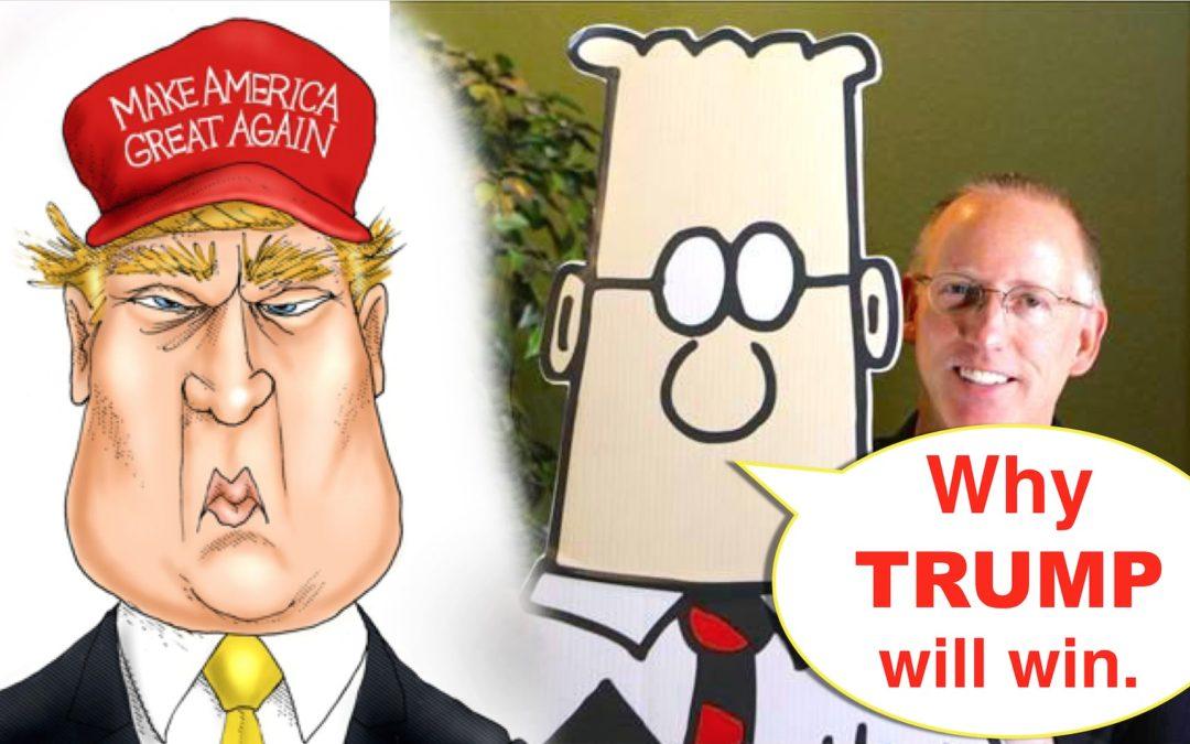 Cartoonist Backs Trump Because Clinton May Die