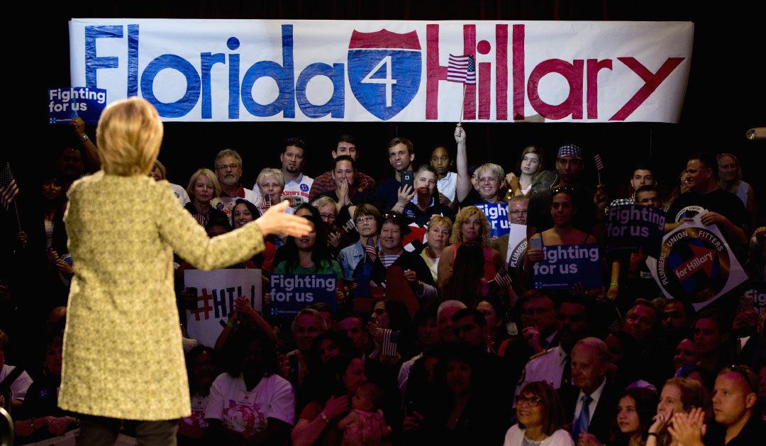 Battleground Florida Papers All Endorse Clinton