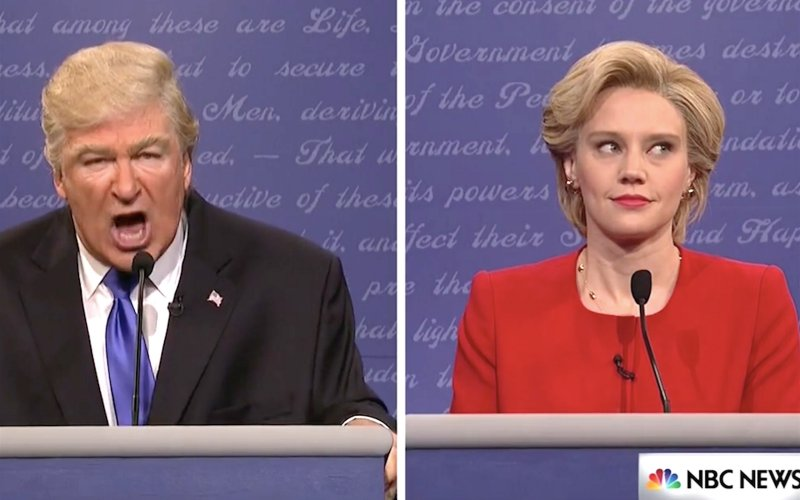 SNL Nails Trump & Clinton Debate