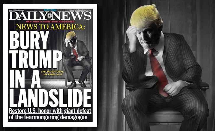 NY Paper: Bury Trump In A Landslide