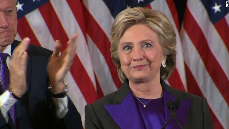 Hillary Wins Popular Vote, Shines In Concession Speech