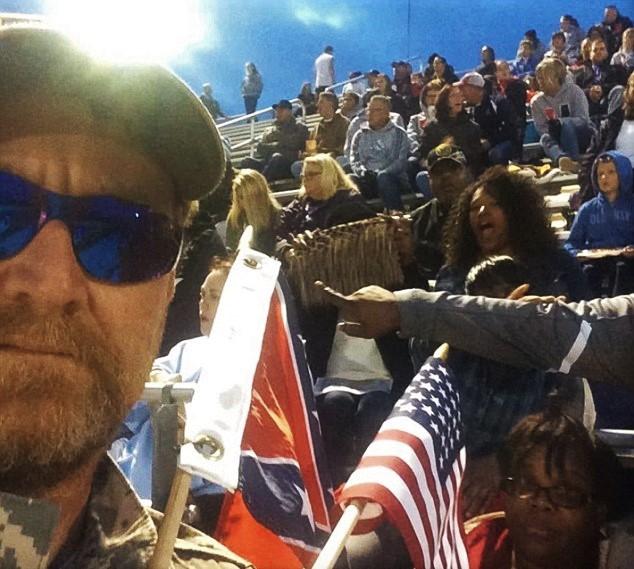 Confederate Flag Waving Racist Kills 2 Policemen