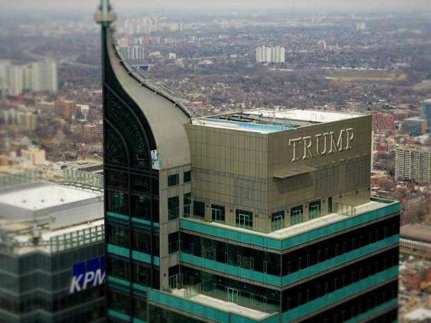 Trump Toronto Declares Bankruptcy