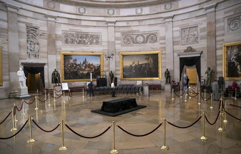 Capitol Awaits Arrival Of John McCain