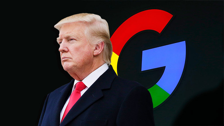 NO EVIDENCE – Trump Fires Unproven Claim Against Google – Based On Conspiracy Website