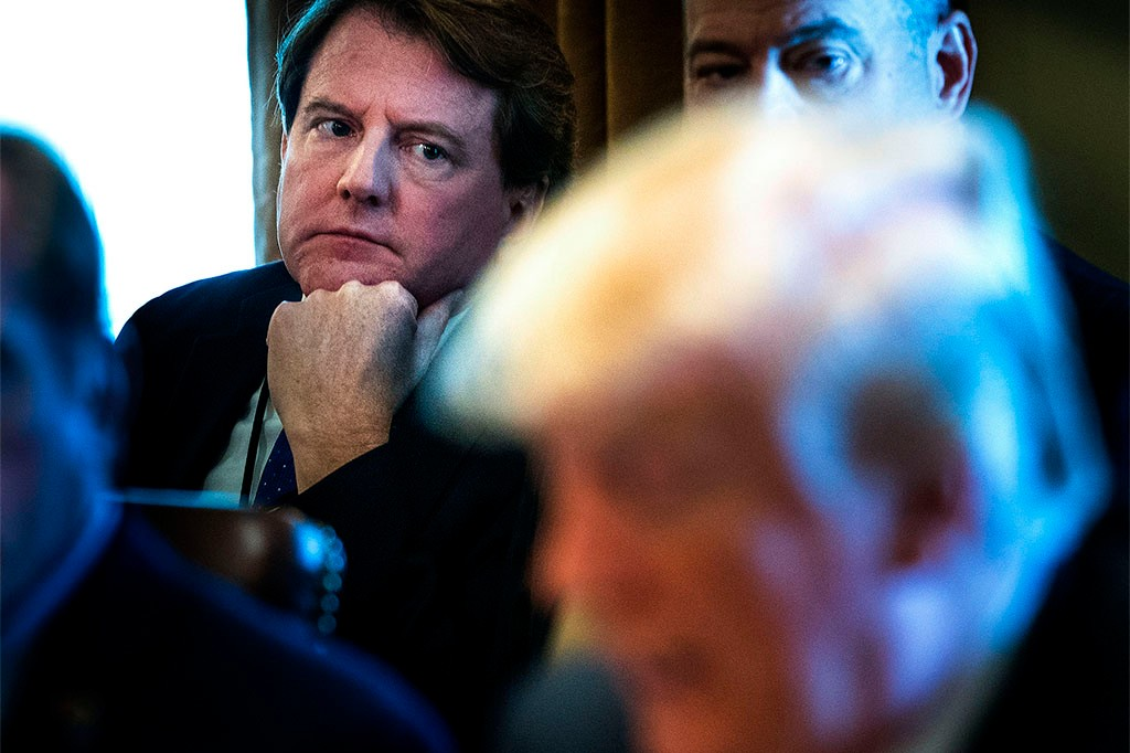McGahn's Dilemma: Ignore Subpoena For Trump OR Risk His Career & Put Law Firm At Risk