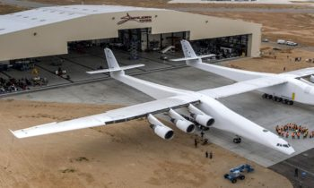 World's Largest Plane Prepares To Launch