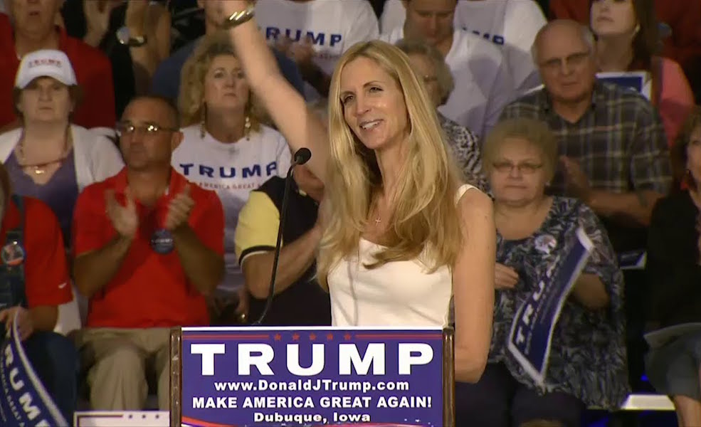 "Trump Spends Saturday Obsessed With ""Wacky Nut Job"" Ann Coulter"