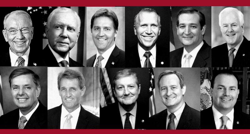 Senate Republican Men Avoid Questioning Ford – Hire Female Attorney