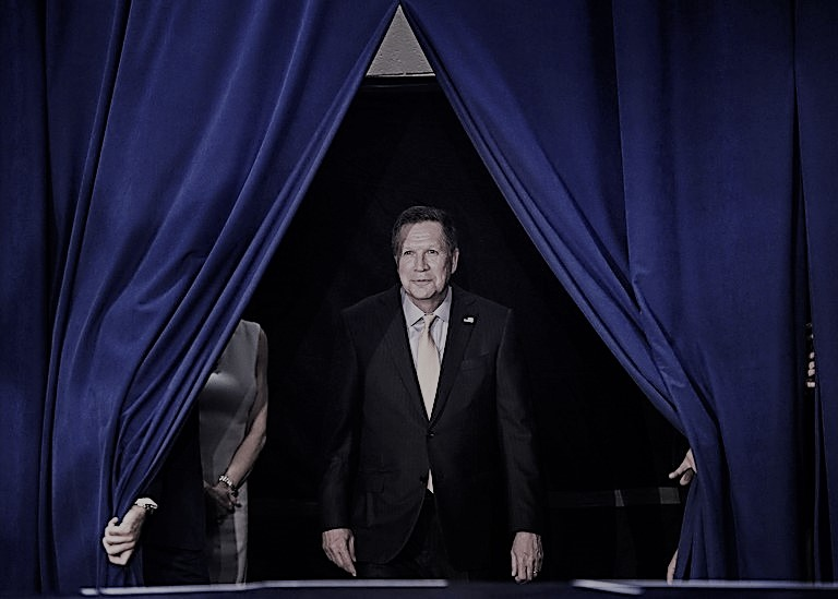Where The Hell Is John Kasich?