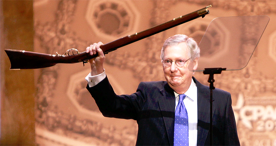 McConnell Ramming GOP Court Picks Through Election Day
