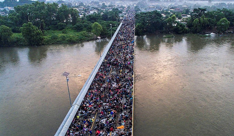 Heading To The US Border – Thousands Of Migrants Begin Quest Through Mexico