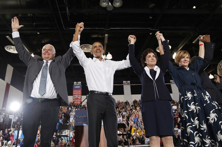 "Obama Campaigns In Nevada – ""Remember Who Started"" Economic Boom"