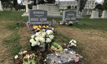 John McCain's Headstone Placed At U.S. Naval Academy
