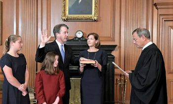 Kavanaugh Sworn In As Conservatives Take Firm Grip On High Court