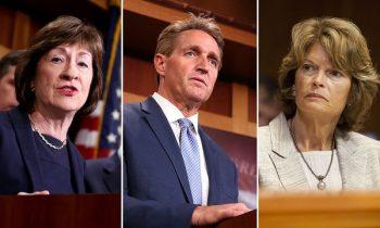 These Three Senators Will Determine Kavanaugh's Fate