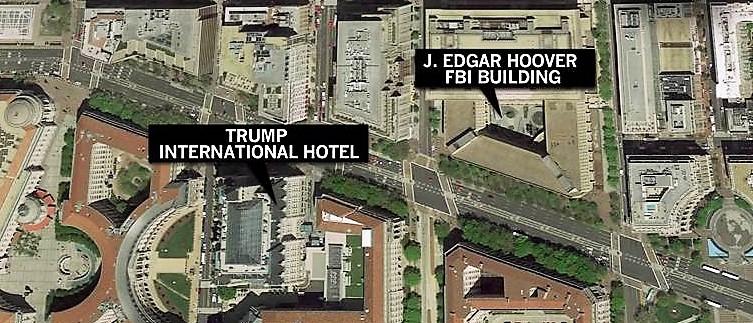 Trump Intervened To Kill FBI Headquarters Move – Democrats Claim To Protect Hotel's Bottom Line