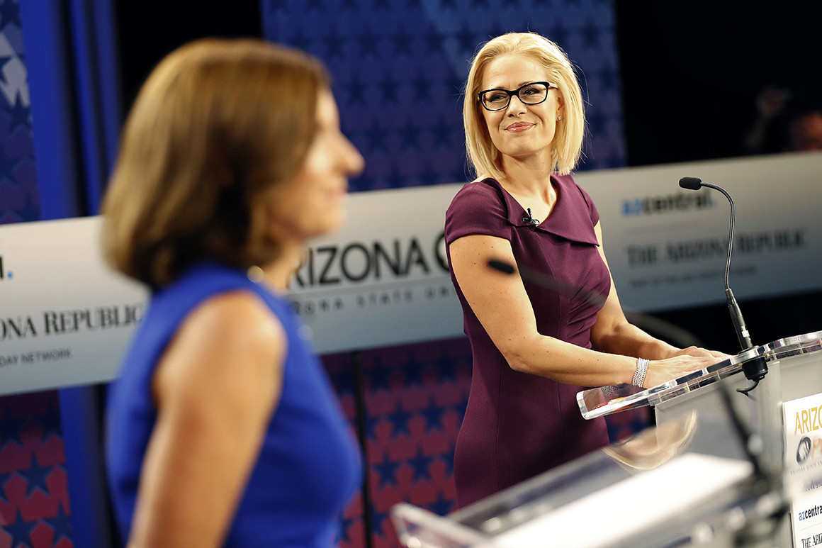 First Time – AZ Republic Endorses Democrat For US Senate
