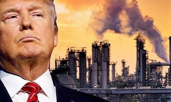 Behind With Women Voters, Trump Talks Environment Flanked By Former Big Oil Lobbyists