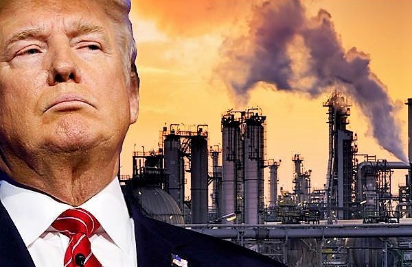 Big Oil's President – Trump Notifies U.N. He Is WITHDRAWING From Paris Climate Agreement