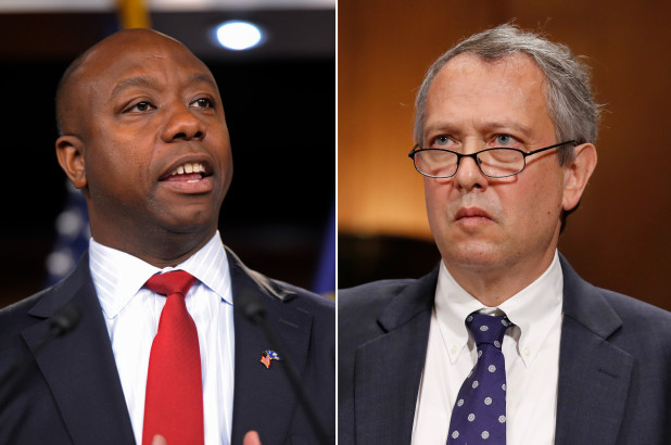 GOP Sen. Tim Scott Sinks Trump Judicial Nominee – Racist Voting Rights Record At Issue