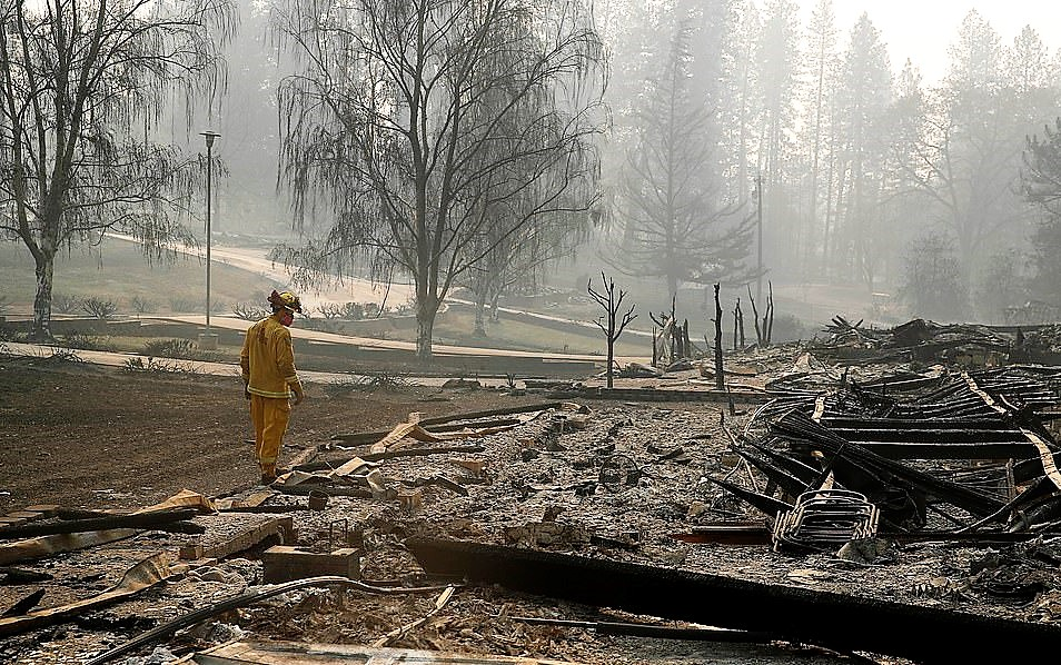 CALIFORNIA: As Death Toll Rises In Wildfires, Trump Again Blames Forest Management