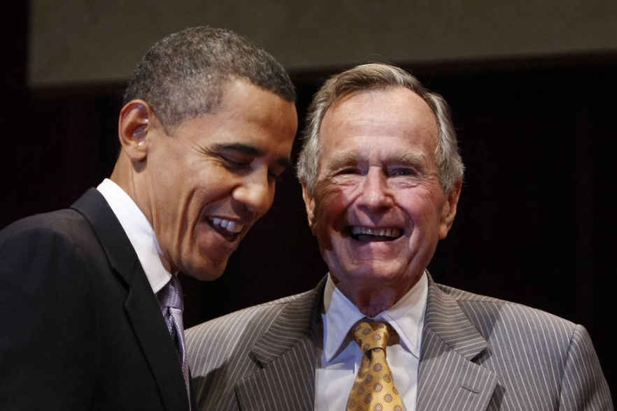Obama Visits With George H. W. Bush In Texas – Reminds Americans Of Time Of Civility
