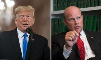 "Trump's Former AG & Top Defender Matthew Whitaker Warns ""Russia Is Trying To Interfere In 2020"""