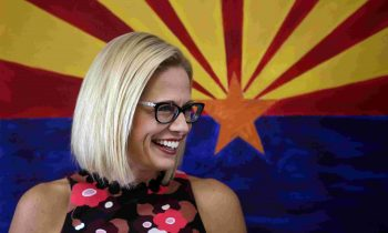 ELECTION ALERT: Kyrsten Sinema Elected Senator From Arizona – Makes History, First Democrat Elected In 30 Years & First Woman Ever Elected