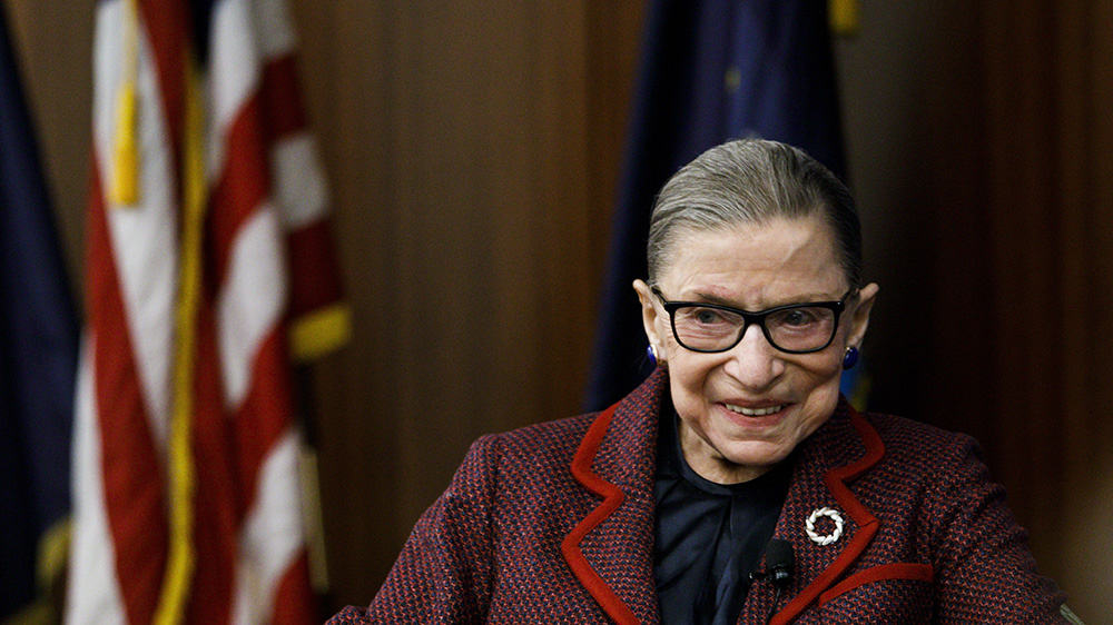 Justice Ruth Bader Ginsburg Back At Work – Sigh Of Relief By Political Left