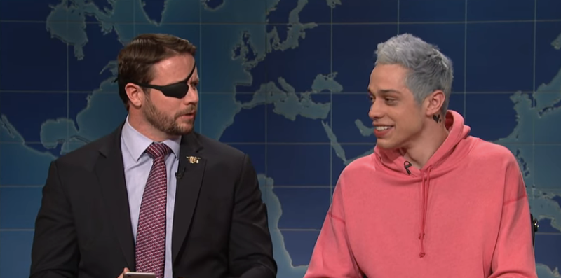 SNL's Pete Davidson's Apology To Dan Crenshaw Was Necessary & Classy