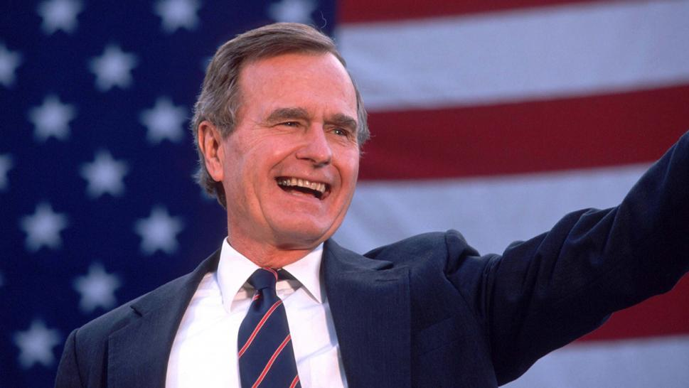 Former President Bush To Lie In State Next Week – Trump Will Attend Funeral