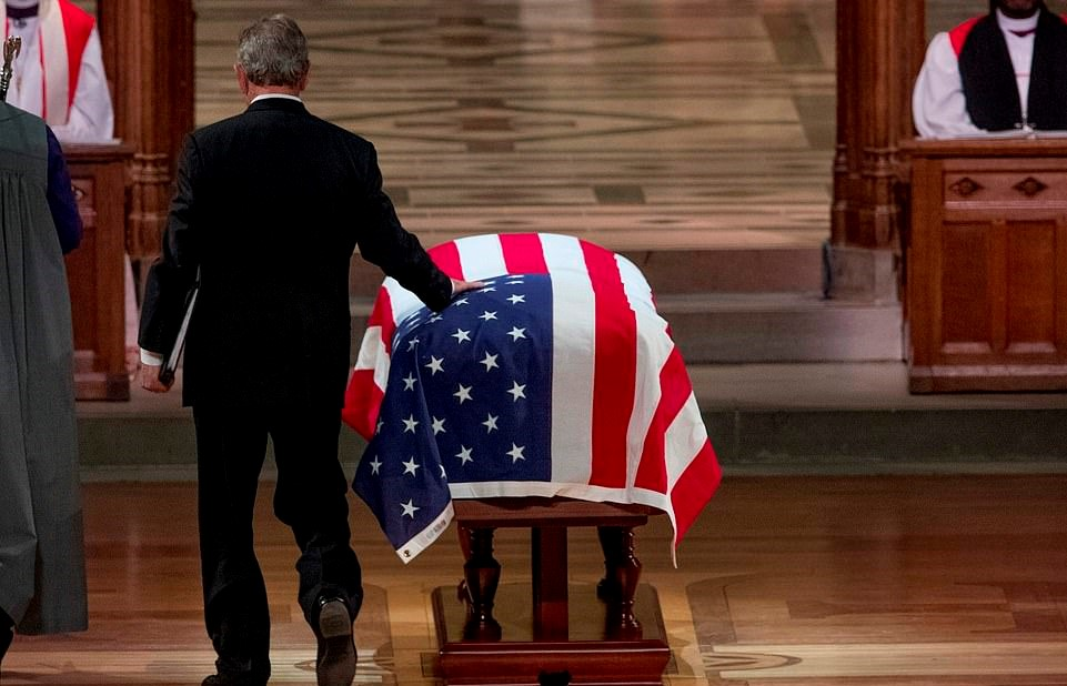 George W. Bush Remembers His Dad Through Tears – America Says Farewell To 41st President