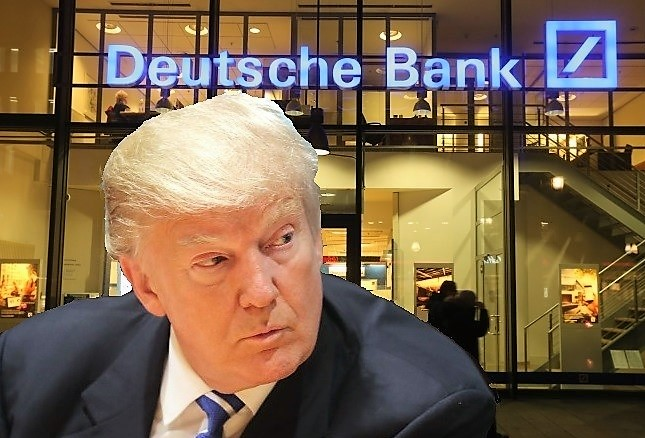 Image result for trump and deutsche bank