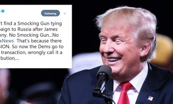 "Trump Claims Democrats Can't Find ""Smocking Gun"" – Tweeps Offer Up Hilarious Responses"