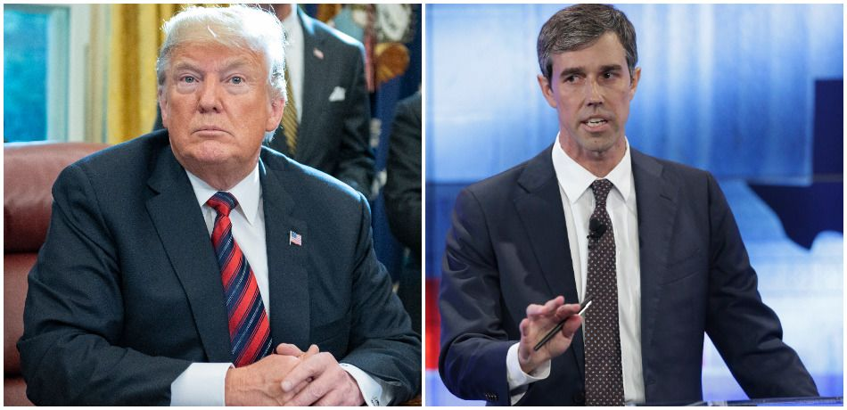 Beto O'Rourke Now On Trump's Radar – Takes First Jab At Possible Democratic Opponent