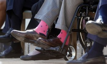Americans Will Wear Colorful Socks Wednesday To Honor Former President George Bush