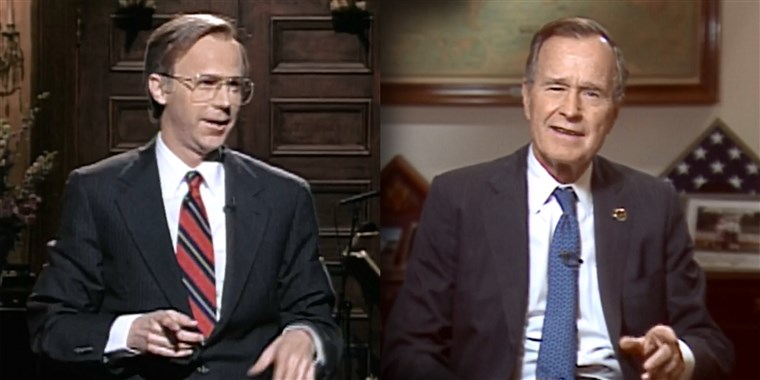 "SNL Pays Tribute To George Bush – ""Warm & Gracious Man Who Understood Power Of Being Able To Laugh At Yourself"""