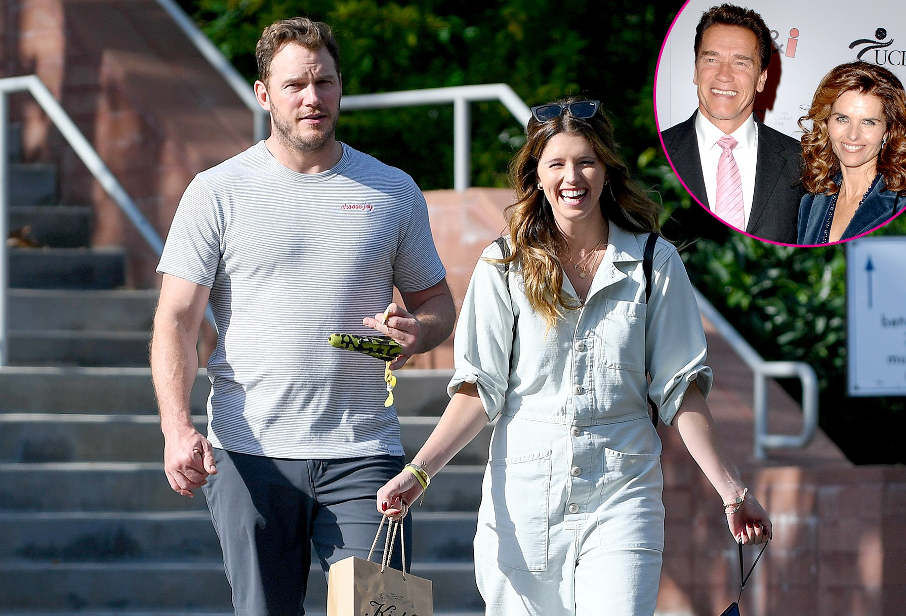 Schwarzenegger Gives Permission To Chris Pratt To Marry His Daughter – Still Silent On Social Media