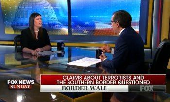 Fox's Chris Wallace Challenges Sarah Sanders On False Claims About Border Security